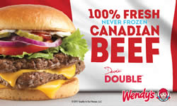 Wendys Canadian Beef